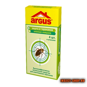 Ловушка от тараканов Argus (Аргус) 4 шт.